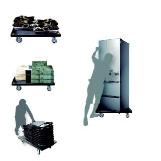 【COLOR】載重型小平板車(300公斤)