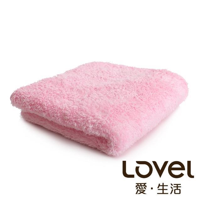 【Lovel】超強吸水輕柔微絲多層次開纖紗毛巾(共9色)