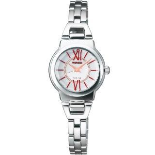 【WIRED】知性美人手鍊女錶-銀(V117-X001S)