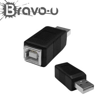 【Bravo-u】USB 2.0 A公對B母(印表機轉接頭)