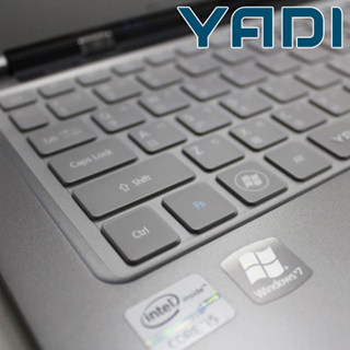 【YADI】ASUS 12系列抗菌超透明鍵盤保護膜(KCT-ASUS12)