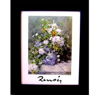 【開運陶源】柔美系列--盆花(Renoir雷諾瓦...春之花樹)
