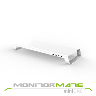 【Monitormate】miniONE 多功能擴充平台(亮面白)