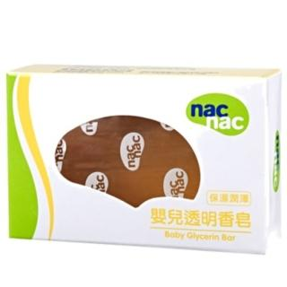 【nac nac】透明皂75g(12入)
