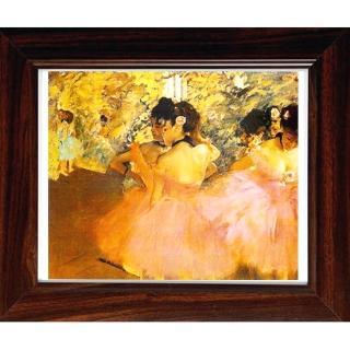 【開運陶源】Degas竇加 世界名畫(粉紅芭蕾舞者)