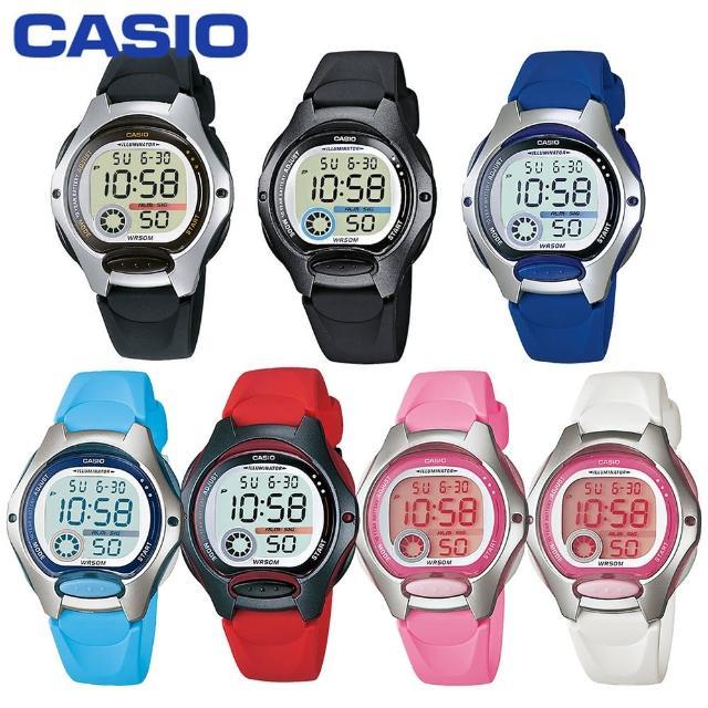 【CASIO 卡西歐】造型小巧、可愛甜美/學生必備電子錶(LW-200 共7色可選)