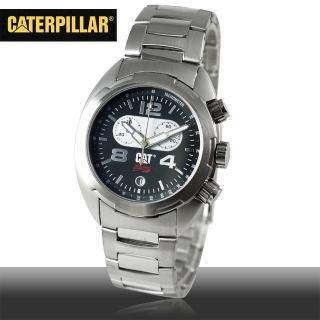 【CAT 美國品牌】美式休閒風格男錶-黑面(R2-143-11-132)