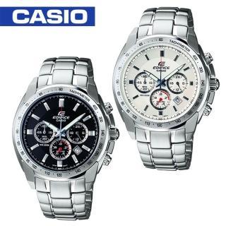 【CASIO 卡西歐 EDIFICE系列】三眼賽車款/時尚指針型男錶(EF-532D)