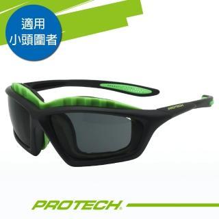 【PROTECH】ADP009專業級UV400運動太陽眼鏡(黑&綠色系)