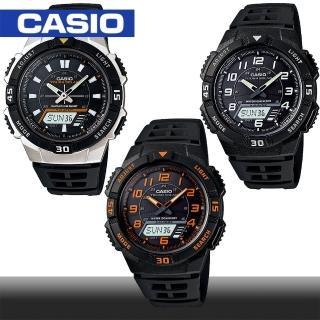 ~CASIO 卡西歐~日系~太陽能電力 指針雙顯錶^(AQ~S800W^)