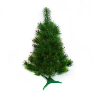 【聖誕裝飾品特賣】台灣製3呎/3尺(90cm特級綠色松針葉聖誕樹裸樹-不含飾品不含燈)