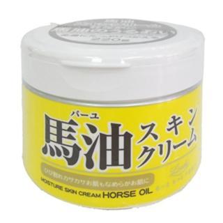 【日本Loshi】馬油保濕乳霜-3入組