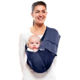 【荷蘭 wallaboo】酷媽袋鼠背巾(深海藍)