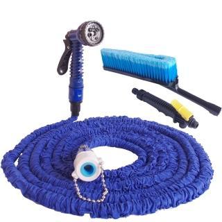 彈力伸縮水管清潔組/汽車清潔組(加贈超細纖維大擦車巾2條)