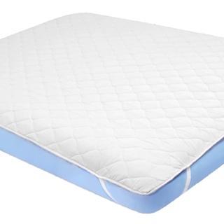 【義大利La Belle】純白素雅-雙人防潑水保潔墊+保潔枕墊(超值三件組)