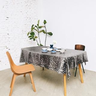【Homemaker】小方格金屬壓紋桌巾-長150cmX寬137cm(RN-PW151-48-C5)