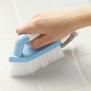 【日本AISEN】兩用機能浴室磁磚清潔刷(2入裝)