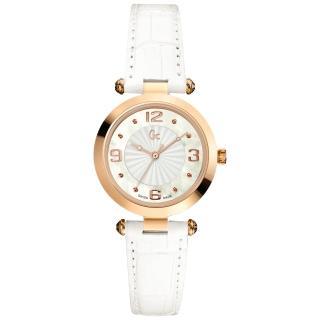 【Gc】光樣年華淑女腕錶-白/皮帶(X17013L1)