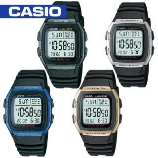 【CASIO 卡西歐】日系學生/青少年休閒運動錶(W-96H)