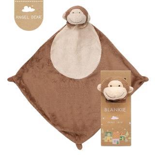 【美國 Angel Dear】動物嬰兒安撫巾(小猴)