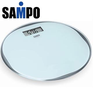 【SAMPO聲寶】超薄型圓形電子體重計(BF-L1302ML)