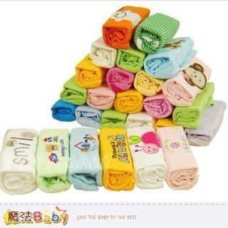 【魔法Baby】純棉寶寶長袖連身包屁衣-男生.女生款-5件裝(k32802)
