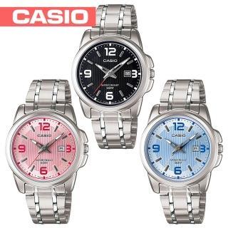 【CASIO 卡西歐】送禮首選-簡約優雅指針型氣質女錶(LTP-1314D)