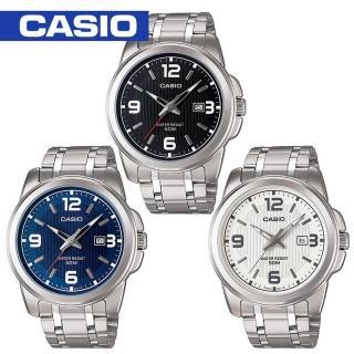 【CASIO 卡西歐】送禮首選-簡約氣質指針型男錶(MTP-1314D)