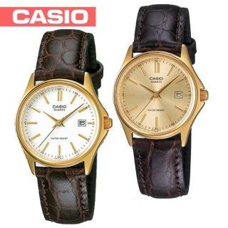 【CASIO 卡西歐】送禮首選-貴氣時尚皮革女錶(LTP-1183Q)