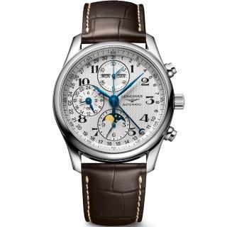 【LONGINES】浪琴巨擘多功能月相錶(L26734783)