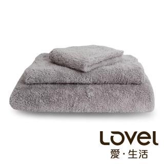 【Lovel】7倍強效吸水抗菌超細纖維浴巾/毛巾/方巾3件組(共9色)