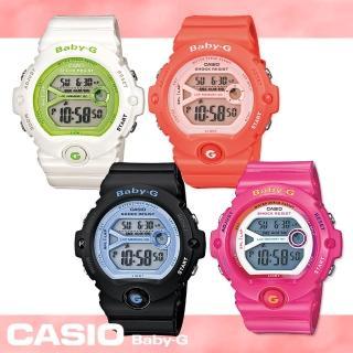 【CASIO 卡西歐 Baby-G 系列】運動女孩甜美夢幻款女錶(BG-6903)