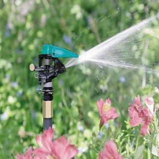 【灑水達人】4分鳥型噴頭與20cm塑膠腳架灑水器6入(塑膠)