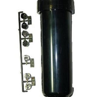 【灑水達人】美國TORO 一吋T7單支隱藏噴頭長22.4cm可彈跳12.7cm調整45-360度(黑)