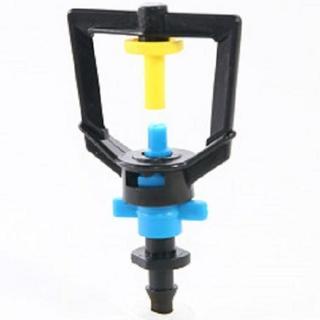 【灑水達人】2分放射型不旋轉噴頭10個一包(黃藍)