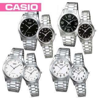 【CASIO 卡西歐】白領階級/粉領階級/甜蜜情人對錶(MTP-1275D+LTP-1275D)