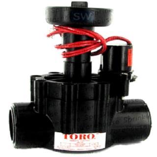 【灑水達人】美國TORO 1吋 塑鋼型電磁閥加110V 電子式定時器(黑)