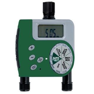 【灑水達人】美國ORBIT自動定時雙區灑水器LCD螢幕(綠)
