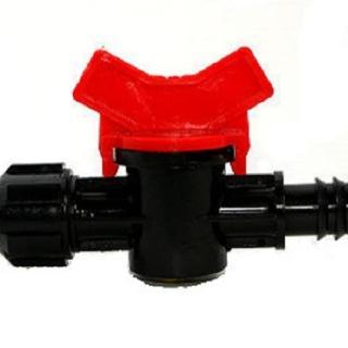 【灑水達人】16mm轉16mm軟管開關接頭2個(球閥)