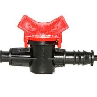 【灑水達人】12mm轉6mm軟管開關接頭2個(球閥)