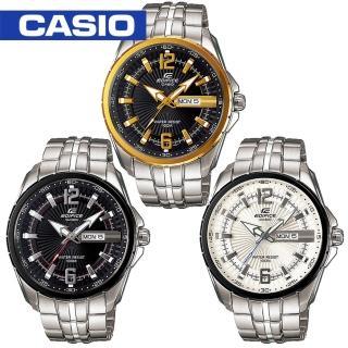 【CASIO 卡西歐 EDIFICE 系列】送禮首選-造型錶盤指針個性男錶(EF-131D)