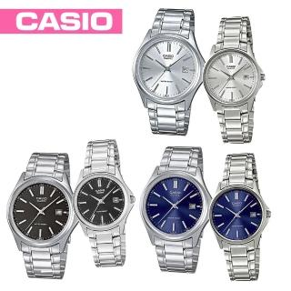 【CASIO 卡西歐】送禮首選-甜蜜情人對錶-附2錶盒(MTP-1183A+LTP-1183A)