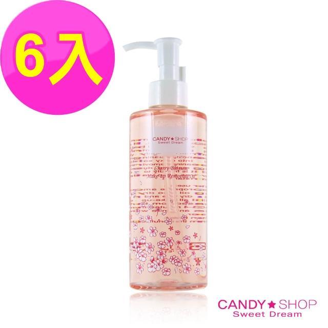 【CANDY SHOP】櫻花深層卸妝油250mlx6入(卸妝油)