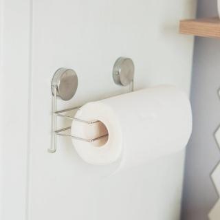 【樂活主義】不鏽鋼吸鐵捲筒紙巾架