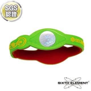 【第六元素】IEB負離子高能量手環(522 黃綠紅)