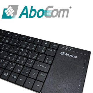 【友旺科技】AK05 跨平台多工觸控板鋰電無線鍵盤