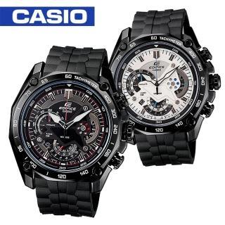 【CASIO 卡西歐 EDIFICE 系列】經典時尚極速感賽車型男錶(EF-550PB)