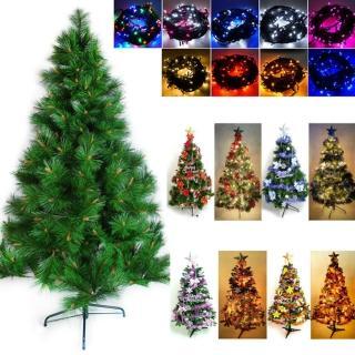 【聖誕裝飾特賣】台灣製15尺/15呎(450cm特級松針葉聖誕樹-含飾品組+100燈LED燈9串 附控制器跳機)