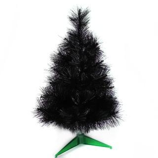【聖誕裝飾品特賣】台灣製2尺/2呎(60cm特級黑色松針葉聖誕樹裸樹 不含飾品 不含燈)