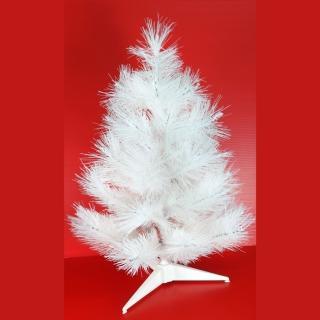 【聖誕裝飾品特賣】台灣製2尺/2呎(60cm特級白色松針葉聖誕樹裸樹 不含飾品 不含燈)